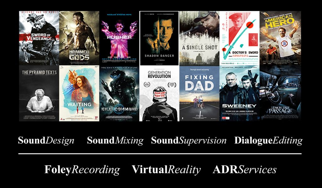 services, sound design, sound mixing, sound supervision, dialogue editing, foley, virtual reality, vr, adr, sound disposition